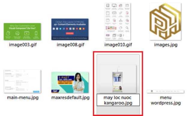lỗi could not complete your request because of a problem parsing the jpeg data