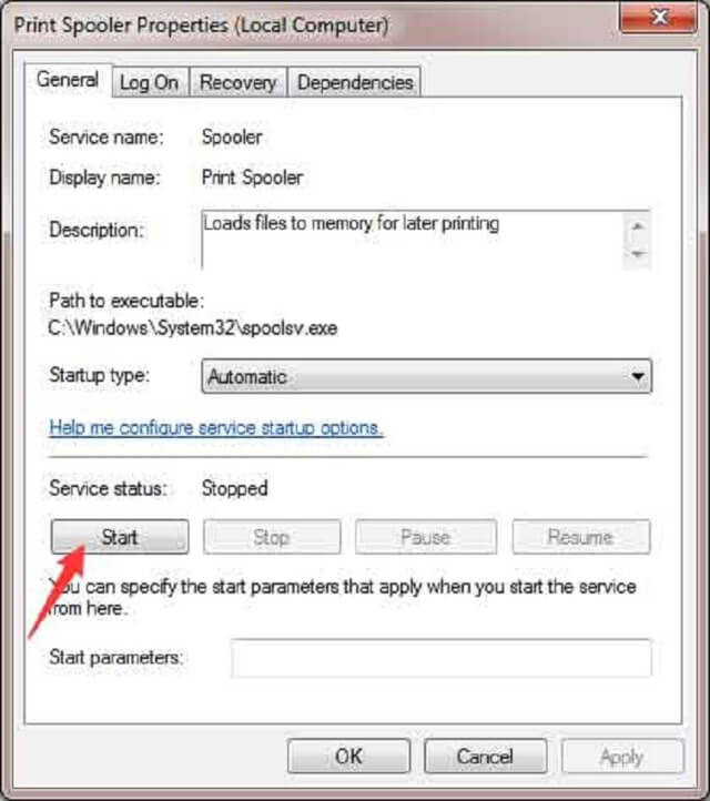 lỗi windows cannot connect to the printer access is denied